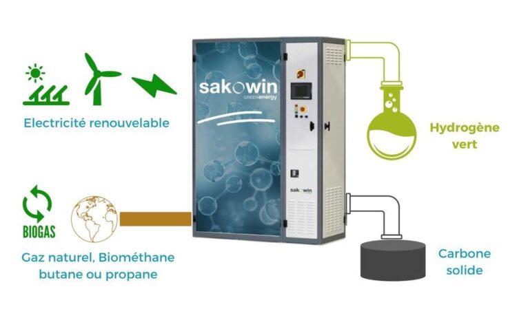 Pourquoi la start-up Sakowin croit au plasma pour la production d'hydrogène décarboné à partir de gaz fossile